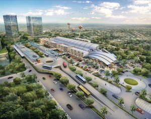 Kawasan Intermoda BSD City Terintegrasi Pasar Modern