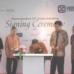 Prosesi Signing Ceremony Vimala Hils dengan Tenant