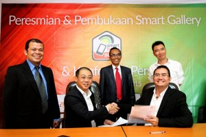 Peresmian Smart Gallery