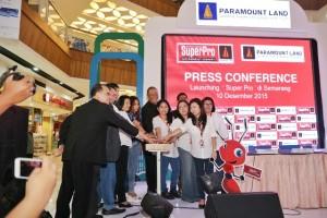 Seremonial Peluncuran SuperPro di Main Atrium  Ciputra Mall, Semarang, Kamis 10 Desember 2015.