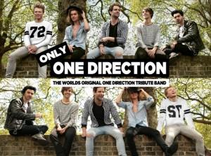 Personil One Direction Impersonate yang akan hadir pada Malam pergantian tahun 2015-2016 di The Breeze BSD City