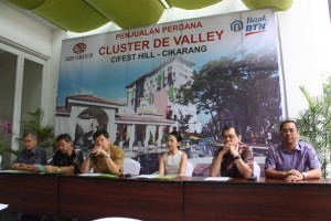 Press Conference Peluncuran klaster De Valley