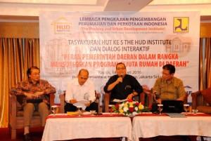 Dialog Interaktif dengan Tema Peran Pemerintah Daerah Dalam Mensukseskan Program Sejuta Rumah di Daerah