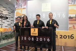 PT Bank Maybank Indonesia Tbk (Maybank Indonesia) kembali menggelar lomba lari internasional yang tahun ini memasuki tahun kelima.