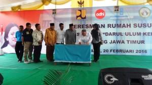 Peresmian Rumah Susun (rusun) Pondok Pesantren Darul Ulum, Jombang