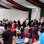 Suasana soft launching cluster pertama Villaggio CitraRaya