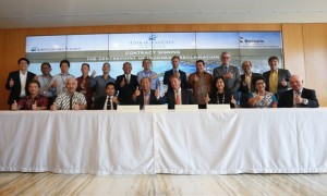 KSO Ciputra Yasmin & PT Boskalis Internasional Indonesia melakukan kerjasama pengembangan Reklamasi Proyek Centre Point Of Indonesia di Makassar