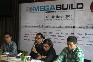 Press Conference Megabuild Indonesia 2016