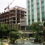 Grande Valore Condominium, progres pembangunan 40%