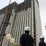 Topping off Green Palace Residence