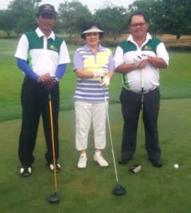 Menurut Ketua DPD HIPPI Riau Jhon Satri (paling kiri)