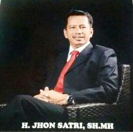 Ketua Dewan Penasehat DPD REI Riau Jhon Satri