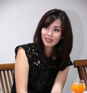 Chief Executive Officer PT Bogorindo Cemerlang, Imelda Fransisca saat berkunjung ke redaksi Property&Bank