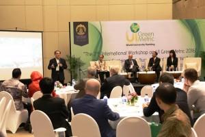 Para Pemimpin Rektor saat Diskusi Kampus Hijau di Universitas Indonesia
