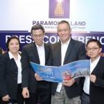 Manajemen Paramount Land selepas memperkenalkan produk baru Neo Portico dan Fitto@Amarillo Village