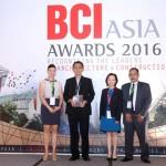 Paramount Land menerima penghargaan dari BCI Asia