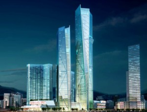 Eton Place Dalian Tower 1, Cina