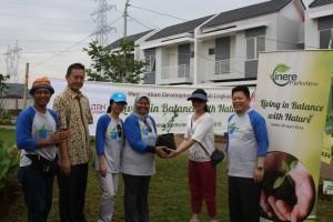 Kegiatan aksi hijau yang digelar PT Megapolitan Development, Tbk