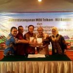 REI Banten Kerjasama Dengan Telkom Untuk Jaringan Indihome