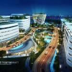 Kawasan Digital Hub di BSD City