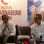 (ki=ka) Direktur Utama Kopelland Bogi Aditya dan Sales & Marketing Manager Kopelland Reza Atmadja