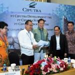 Jajaran Direksi Ciputra Group usai RUPS