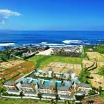Pantai Pabean yang elok dilihat dari udara