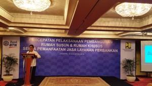Direktur Jenderal Penyediaan Perumahan Kementerian PUPR Syarif Burhanuddin
