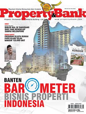 Cover Majalah Property&Bank Edisi 128, Juli 2016