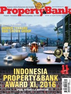 Cover Majalah Property&Bank edisi 130, bulan September 2016
