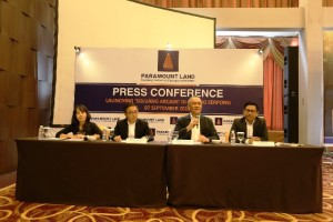Press Conference peluncuran PRODUK INVESTASI 'Solvang Arcade' di Gading Serpong oleh Paramount Land