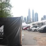 Lokasi pembangunan M101 Skywheel Kuala Lumpur