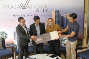 Prajawangsa City tawarkan berbagai kelebihan dengan harga kelas menengah.