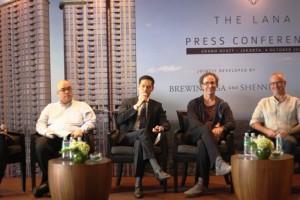 Press Conference The Lana, Alam Sutera