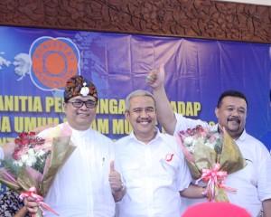 Eman selepas debat di Regional III, Bali.
