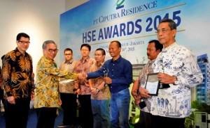 Para penerima HSE Award tahun 2015 lalu