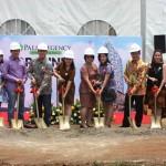 Jajaran Direksi dan Manajemen Moizland Development saat groundbreaking Palm Regency