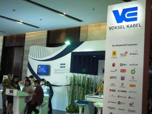 Booth Voksel Electric di Pameran