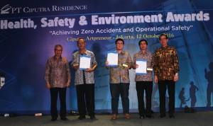 PT Ciputra Residence gelar HSE 2016.