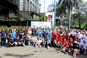 Sejumlah Perusahaan Start Up bersihkan Jakarta