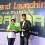 Rizky Hendrick, Head Sales Damai Putra Development bersama Dwi Trisaria Marketing Communication Damai Putra Development.