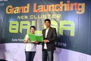 Risky Hendrick, Head Sales Damai Putra Development bersama Dwi Trisaria Marketing Communication Damai Putra Development.