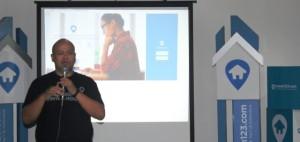 General Manager Rumah123.com Ignatius Untung saat media gathering dengan Forwapera