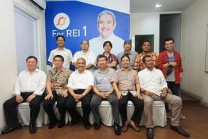 Ketum DPP REI 2016-2019 terpilih, Soelaeman Soemawinata dan tim, poto bersama Forwapera beberapa waktu lalu