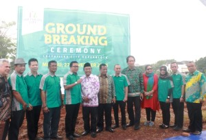 Prosesi Groundbreaking Loftvilles City Apartement