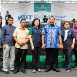 Walikota Jakarta Barat H.M. Anas Efendi, SH,MM (batik biru) bersama jajaran direksi dan manajemen Ciputra Hospital CitraGarden City