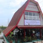 Rumah baca Tambaklorok yang diresmikan Menteri PUPR Basuki Hadimuljono