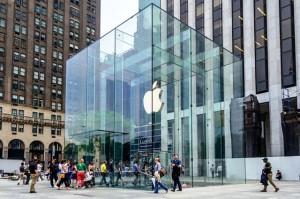 Harga sewa ruang ritel di Toko Apple, New York mencapai $3.000 per meter persegi.