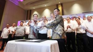 Pengukuhan Pengurus DPP REI priode 2016 - 2019.