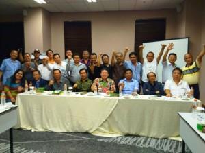 Jajaran pengurus DPP Apersi periode 2016-2020
